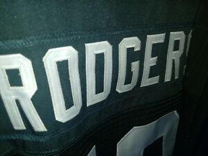 Packers Stitched Green Home Aaron Rodgers Jersey Size 52 XXL