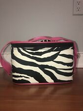 Makeup Artist/beauty Consultant Zebra Print/pink Storage Bag