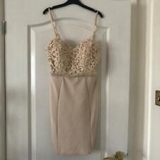 NEW ARIANA LIPSY London Dress Nude Size 8 Ariana Grande Collection Ladies Women