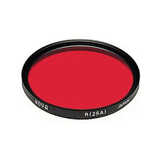 Hoya 77mm Red #25 Multi Coated Glass Filter. U.S Authorized Dealer