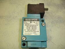 Honeywell Sensing Control Micro Switch L-ZA1 Enclosed Precision Switch Clean