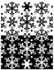 Ranger MELT ART Texture Treads RUBBER SHEET Snow Flurries USE WITH UTEE SUT35756