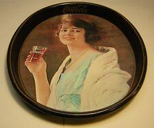 """Vintage Coca Cola 1973 """"1923 Girl"""" Tray"""