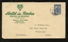 ADVERTISING HOTEL DA ROCHA SEAHORSE ILLUSTRATED PORTUGAL 1907