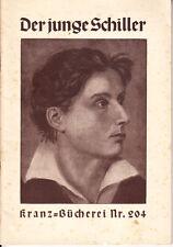 Metzker, Otto – le jeune schiller – l'image d'un heldischen vie-COURONNE-B.