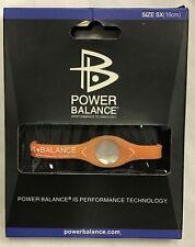 Power Balance Bracelet Wrist Size Extra Small (16cm) PEACH - NEW