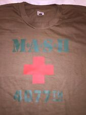 Rare 1970-80s True Vintage Mash Tv Show 4077Th Shirt Size Medium Soft Thin Euc