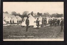 Ripon - 3rd. V.B. Northumberland Fusiliers Camp 1907 - printed postcard