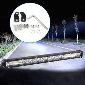LED Work Light Bar Flood Spot Lights Driving Lamp Offroad Car Truck SUV 12V 24V