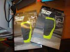 2 brand new Nike Pro Combat Hyperstrong Compression Shin Sleeves Xl black