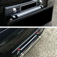 Universal einstellbare Kohlefaser Anzahl Car Racing Kennzeichenhalter DUQ