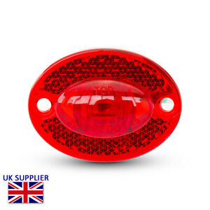 LED Stop Taillight & Reflector Retro Vintage Custom Project Motorcycle Trike
