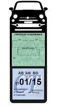 Porte assurance voiture New Fiat 500 étui méga vignette Stickers auto rétro