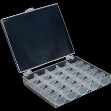 1 stk Klar Plastik Kunststoff 25 Solts Aufbewahrungsbehälter Container Box