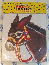 Carnival Party Favors Pin The Donkey Party Supplies New