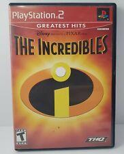 The Incredibles Sony PlayStation 2 2004 Ps2 No Manual