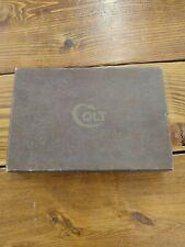 Colt Vintage Super .38 Automatic Pistol Box