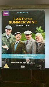 LAST OF THE SUMMER WINE SERIES 17 AND 18 DVD