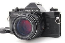 【Mint】Pentax MX Black 35mm SLR Film Camera w/ 50mm f/1.4 from Japan-#2274