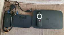 More details for sky q box 2tb es240 and sky q hub er110 wireless with remote power leads