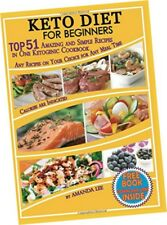 Keto Diet Recipes Beginners Ketogenic Cookbook Weight Loss Low Carb Food Dieting