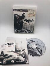 PS3 game Batman Arkham City 3D compatible with manual
