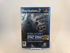 PETER JACKSON'S KING KONG THE OFFICIAL GAME OF THE MOVIE SONY PS2 PAL ITALIANO