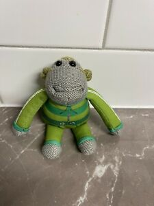 PG Tips Monkey Comic Relief Soft Plush in Green Tracksuit Jogging