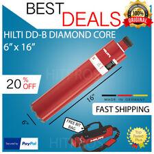 Hilti Diamond Core Bit Dd B 6 X 16 Hcs New Free 12v Driver Set Fast Ship
