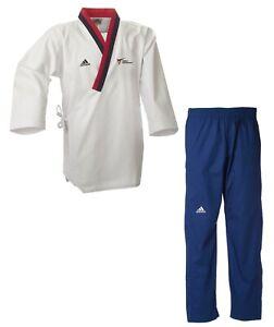 adidas Poomsae Uniform Jugend männlich Taekwondoanzug Taekwondo-Anzug - WT-Logo