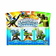 SKYLANDERS SPYRO'S ADVENTURE TRIPLE PACK DROBOT, FLAMESLINGER,STUMP SMASH