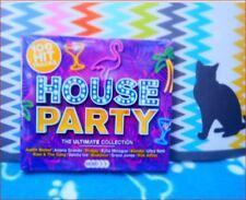 "5xCD New Boxset Fast Freepost ""100 Hits: HOUSE PARTY"" Tom Jones Nicki Minaj Lana"
