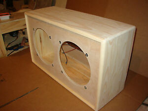 TRM 2x12 guitar extension cabinet 212 closed back unfinished project