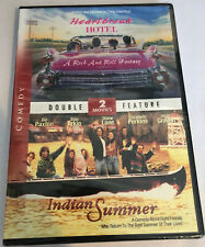 Indian Summer / Heartbreak Hotel BRAND NEW SEALED DVD Double Feature Bill Paxton