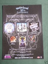 Motorhead Metal Music Clippings, Cuttings & Articles