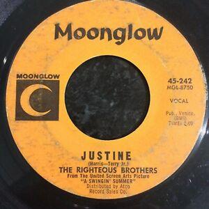 HEAR 1965 WILD ROCKER - RIGHTEOUS BROS - JUSTINE - MOONGLOW (KILLER V ERSION)