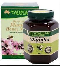 3x  Australian by Nature Bio Active Manuka Honey 8+ 1KG - New Zealand Manuka Hon