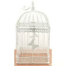 Bird Cage Wishing Well Alternative For Wedding Money Gift Square Metal Birdcage