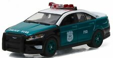 "Greenlight 1/64 NYPD New York City Police ""Vintage Show Car"" 2014 Ford PI Sedan"