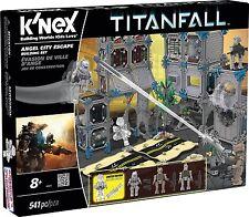 K'nex titanfall angel city escape building set Christmas gift