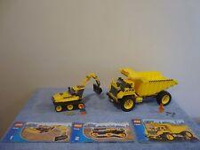 Lego City 7248. Digger & 7344 Dump Truck. Construction.