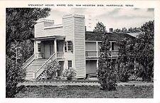 1940's? Sam Houston's Steamboat House Huntsville TX post card
