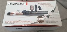 New Remington Curl And Straight Confidence Straighter Curler Hair Dryer Styling