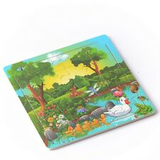 20pcs Forest Animals Puzzle Jigsaw Toddler Kids Early Learning Toys Educational