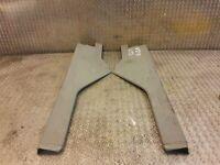 MERCEDES W210 Rear Door Sill Kick plate Set E CLASS W210 2106800735 2106800835