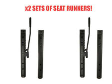 KIT CAR LOW PROFILE 19MM ! UNIVERSAL RACE BUCKET SEAT RUNNERS BUGGY JEEP