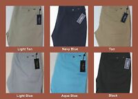 "NWT $69 Polo Ralph Lauren Classic Fit Flat Front 9"" Chino Khaki Shorts Mens NEW"