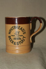 WHITBREAD'S BEER & STOUT 1920 ROYAL DOULTON BEER MUG
