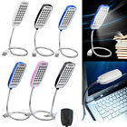 Flexible USB 28 LED Light Reading Lamp Bright Switch For Computer Notebook PC ZY