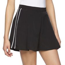 REED Women's LIMITED EDITION Black w/White Trim Pleated Soft Shorts Size 4